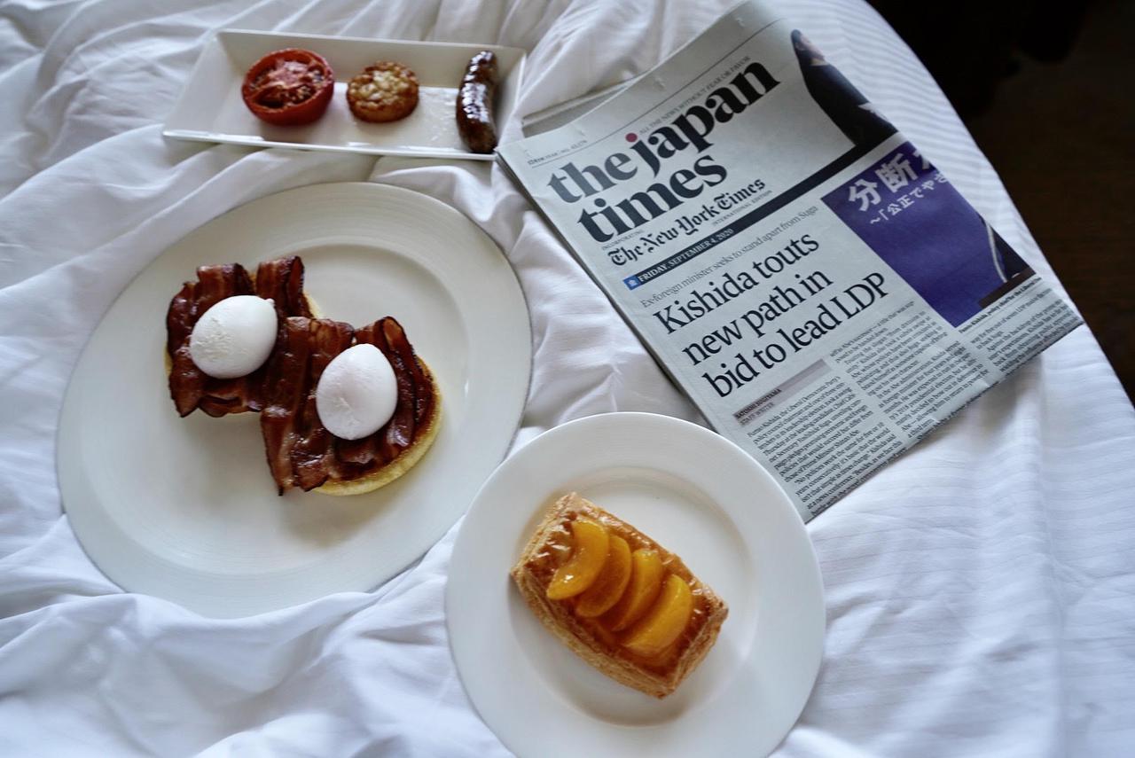 画像1: 朝から幸せな気分になれる豪華な朝食