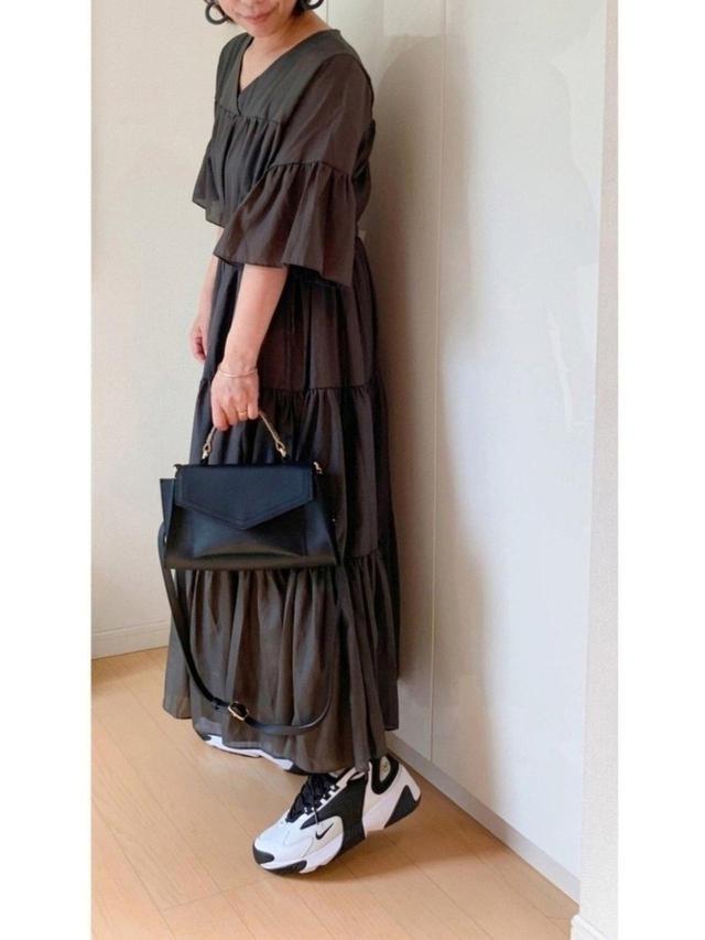 画像: 【しまむら】バッグ平均価格¥1,500~¥2,000【Bab】ワンピース¥5,940(税込)