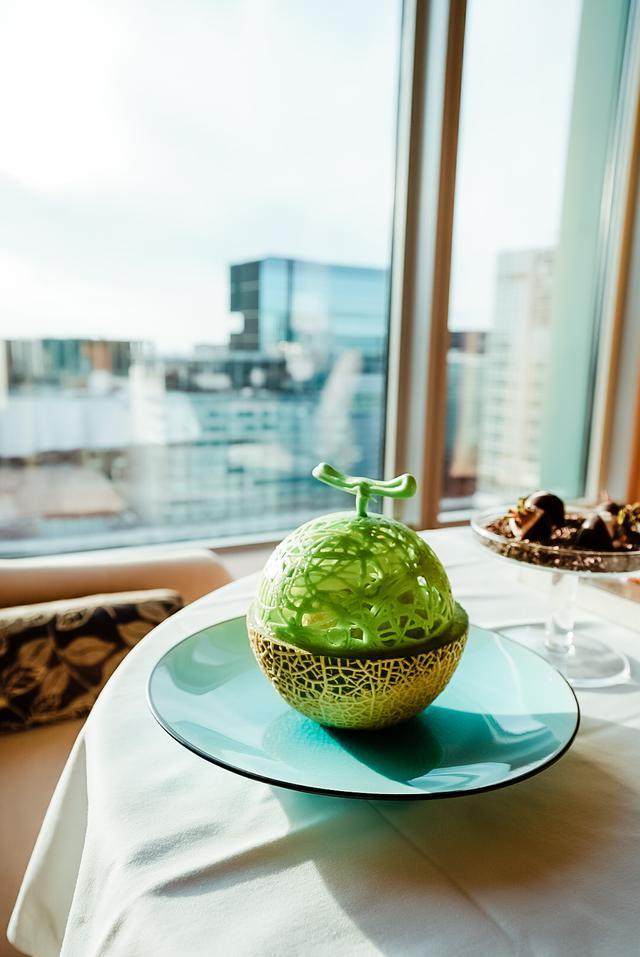 画像3: この夏、一番記憶に残るスイーツ。『シャングリ・ラ ホテル 東京』で食べる究極のメロンかき氷