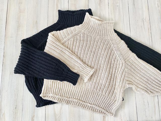 画像1: 【H&M】毎年大人気のリブニットセーター!今年はこのカラーを追加購入♩