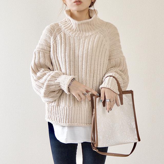 画像2: 【H&M】毎年大人気のリブニットセーター!今年はこのカラーを追加購入♩
