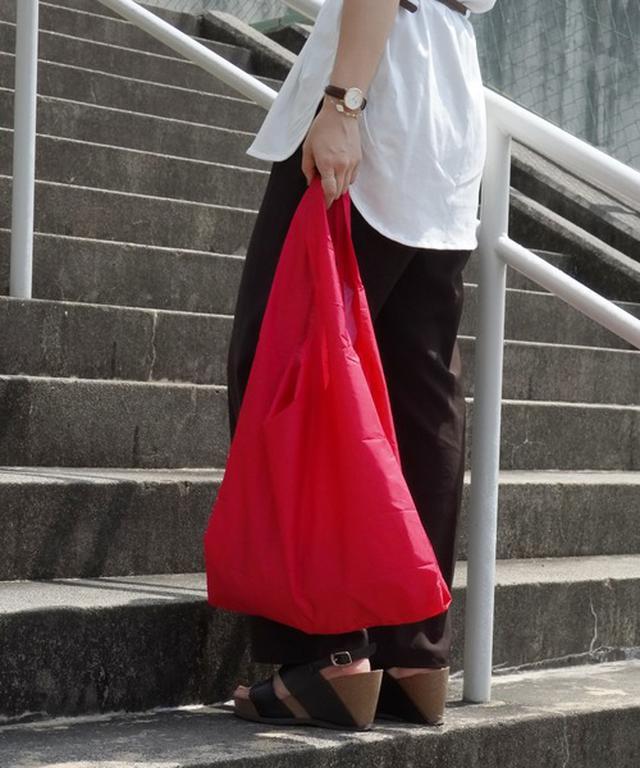画像: 【KIND BAG】プラスチック再生エコバッグ ¥1,650(税込)