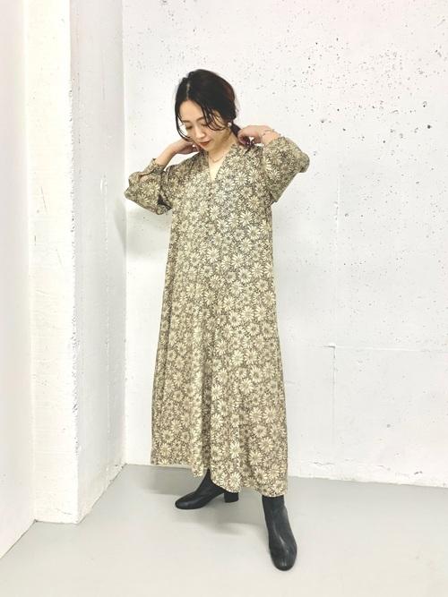 画像: 【ITEMS URBANRESEARCH】ワンピース8690円(税込)