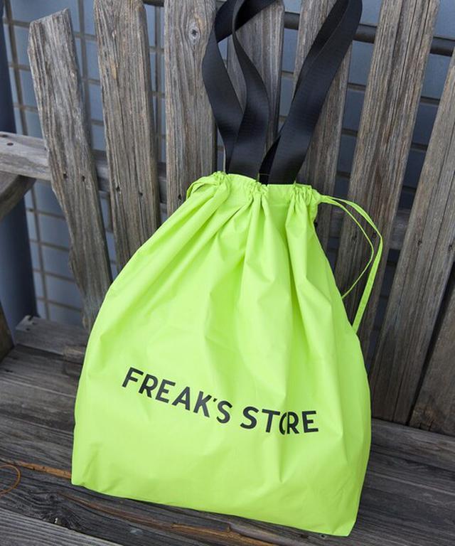 画像: 【FREAK'S STORE】KiU別注エコバッグ ¥1,980(税込)