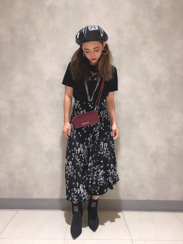 画像: 【DIESEL】トップス 15,400円 スカート39,600円