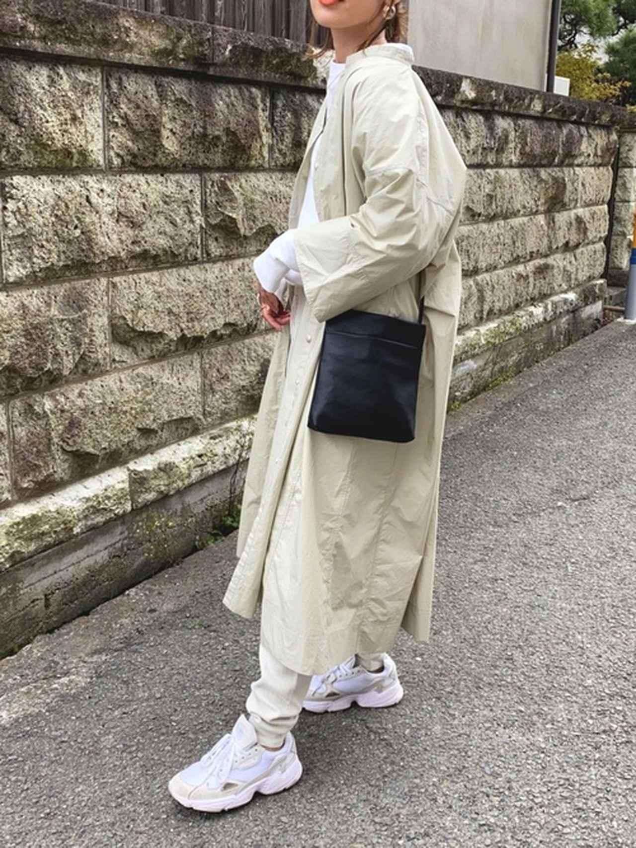 画像: 【ユニクロ】スタンドカラーシャツワンピース 5,489円