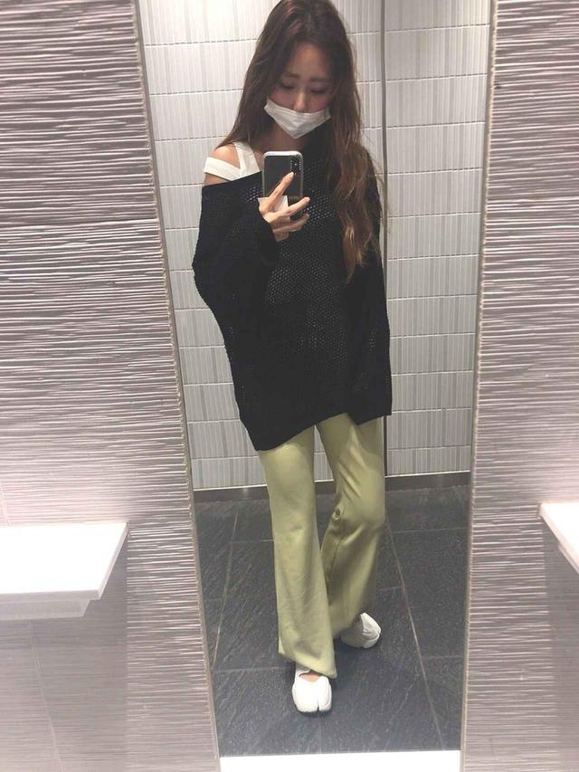 画像: 【GU】オーバーサイズセーター1,490円(税抜)