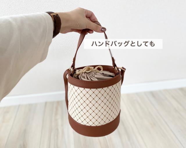 画像3: ラウンドバッグとバケツバッグ