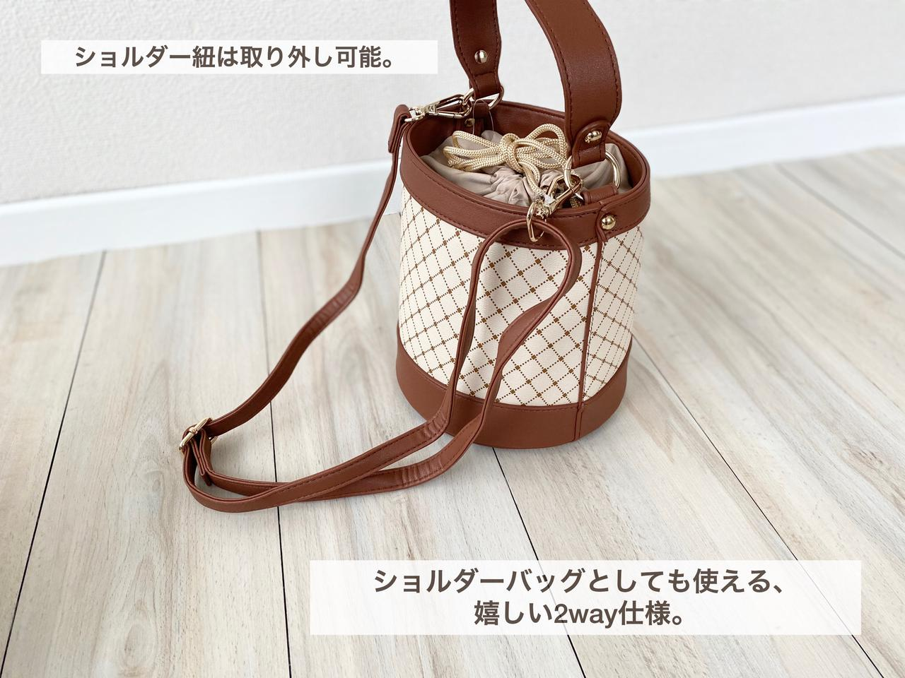 画像4: ラウンドバッグとバケツバッグ
