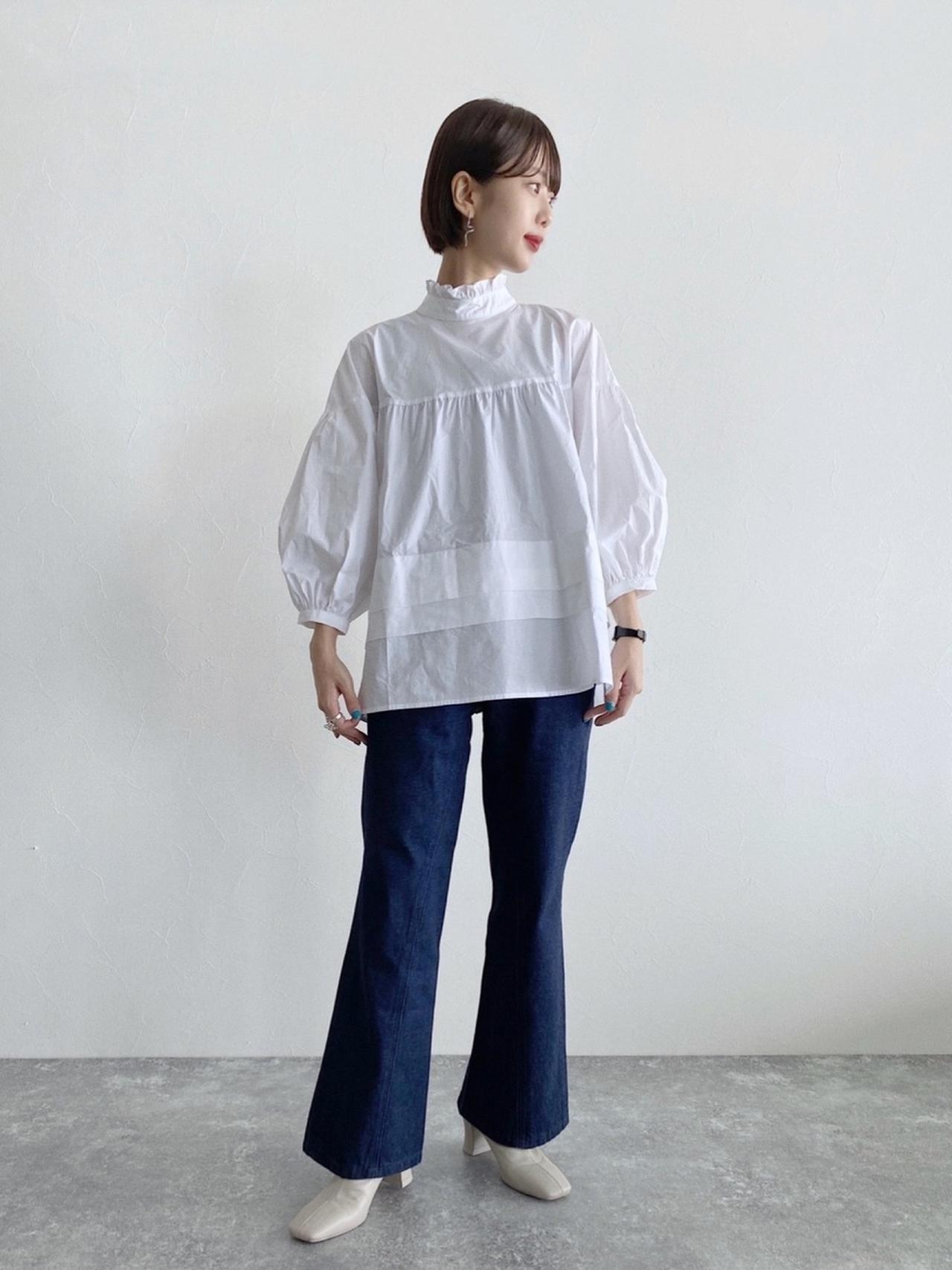 画像: 【JEANASIS】シャツ ¥6,600(税込)パンツ ¥8,800(税込)