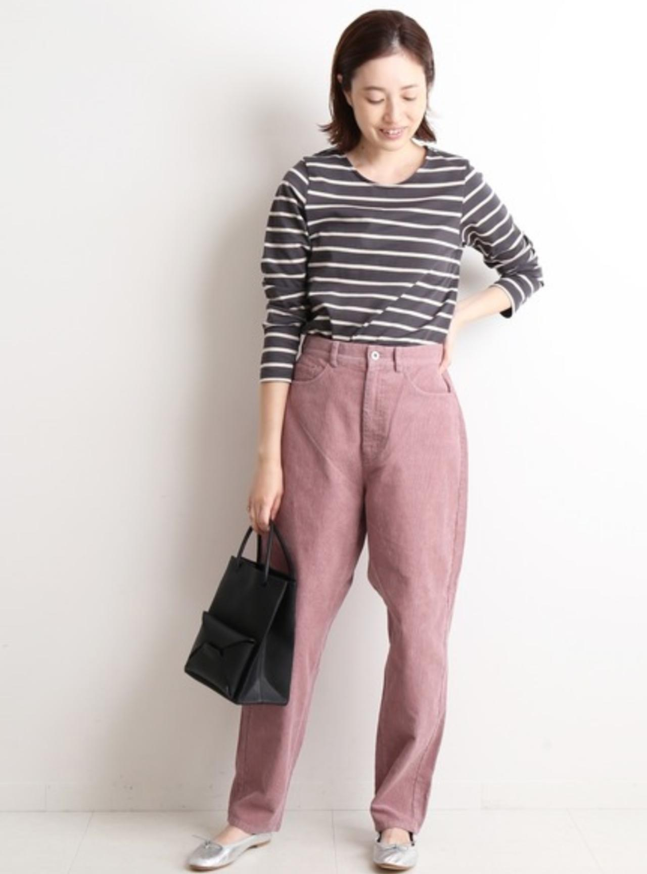 画像: 【SLOBE IENA】パンツ ¥9,900(税込)