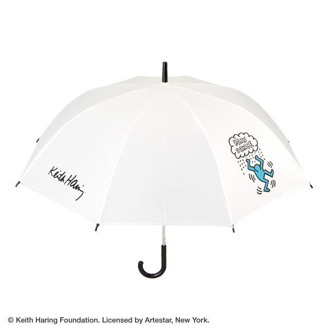 画像: 【キース・へリング × セブン-イレブン】オリジナルビニール傘TYPE-C  ¥1,400(税込)