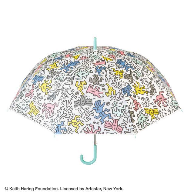 画像: 【キース・へリング × セブン-イレブン】オリジナルビニール傘TYPE-A  ¥1,400(税込)
