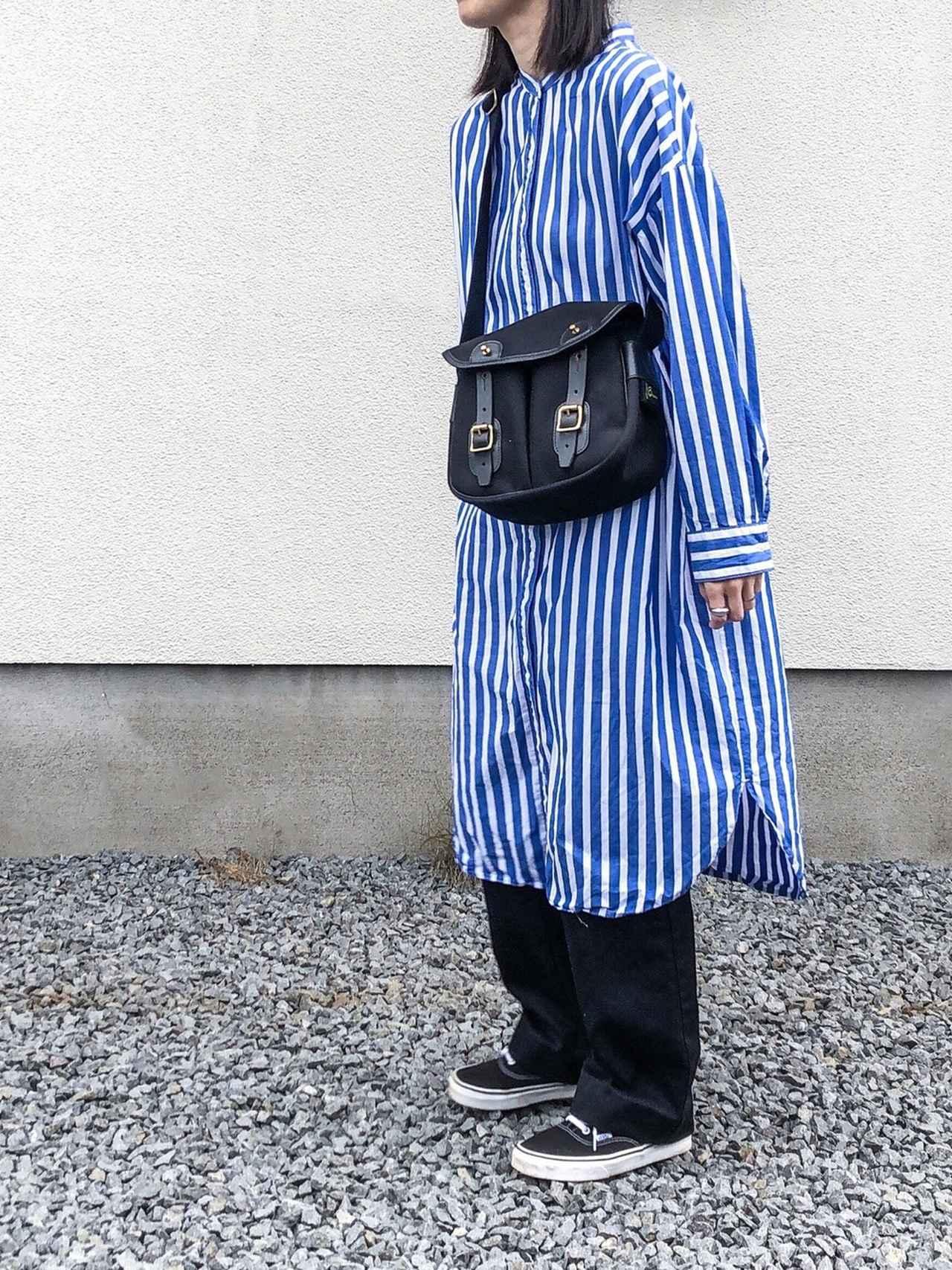 画像: 【GU】シャツワンピース平均価格 ¥2,000〜¥3,000【THE SHINZONE】パンツ ¥19,580(税込)