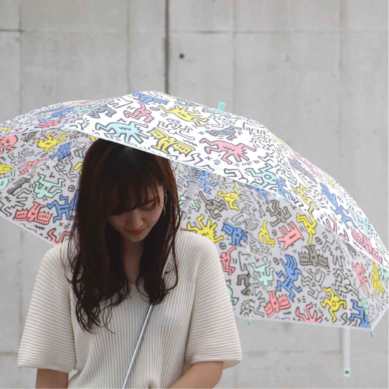 画像: こういうの探してた!ビニール傘なのに、おしゃれアクセ感最高
