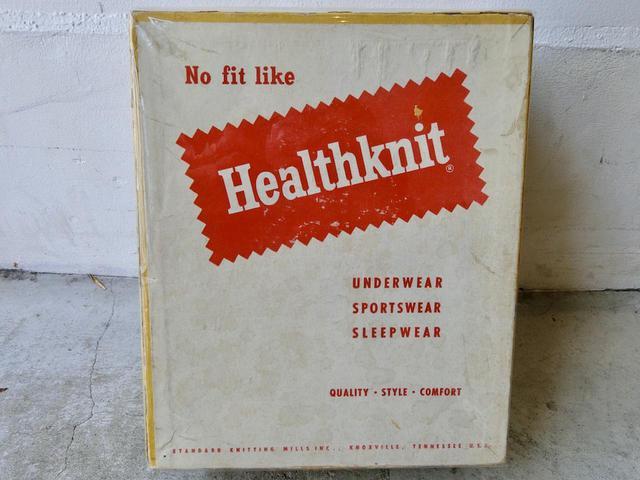 画像: 60年代に使用されていた【ヘルスニット】のパッケージ。ブランドロゴのデザインは今も同じ。