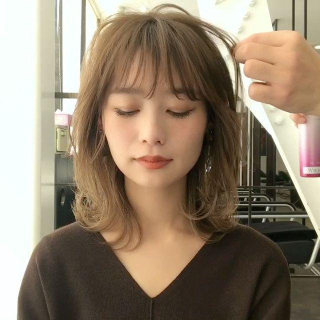 画像2: 髪の量が多い人はレイヤーで解決!インスタで高評価のヘアをチェック