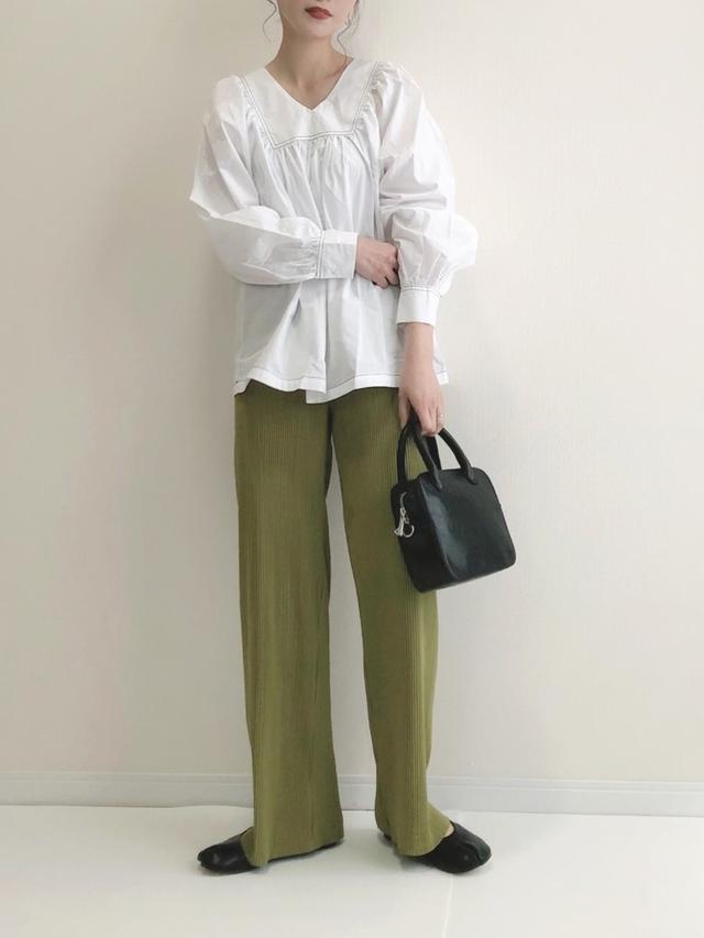 画像: 【DHOLIC】パンツ ¥2,420(税込)シャツ ¥4,323(税込) 出典:WEAR