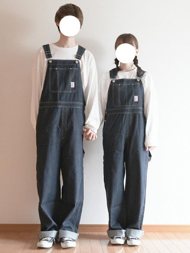 画像: 【PairPair】ワッペン付きオーバーオール3850円 【CONVERSE】ALLSTER OX6380円