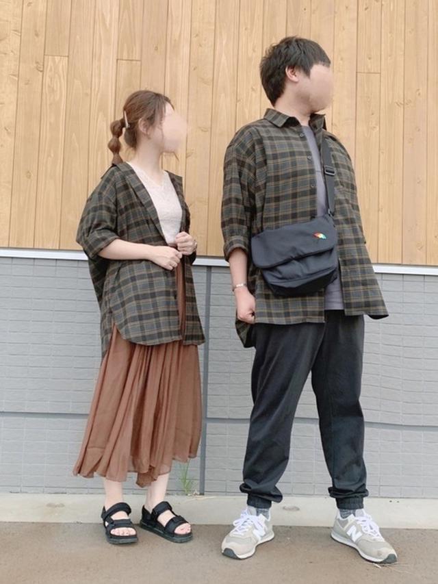 画像: 【GU】オーバーサイズシャツ ¥1,089(税込)