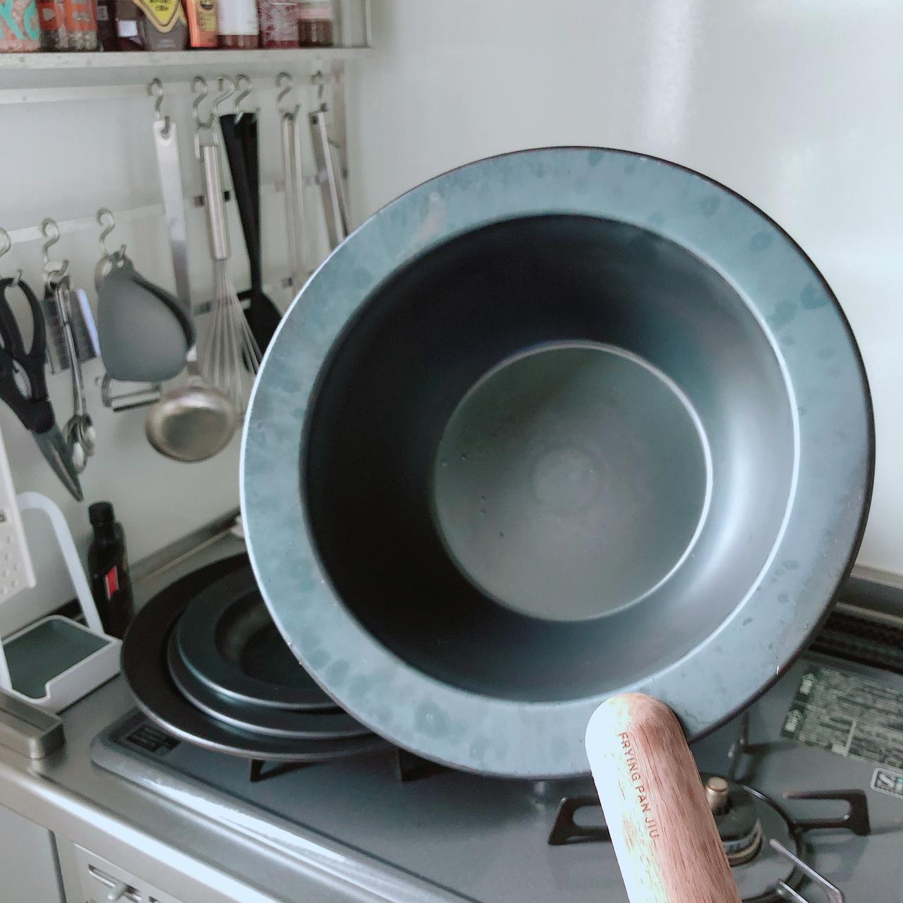 画像1: 洗い物が減るお皿フライパン!おしゃれ評価が高いウワサの鉄フライパン「JIU」を使ってみた