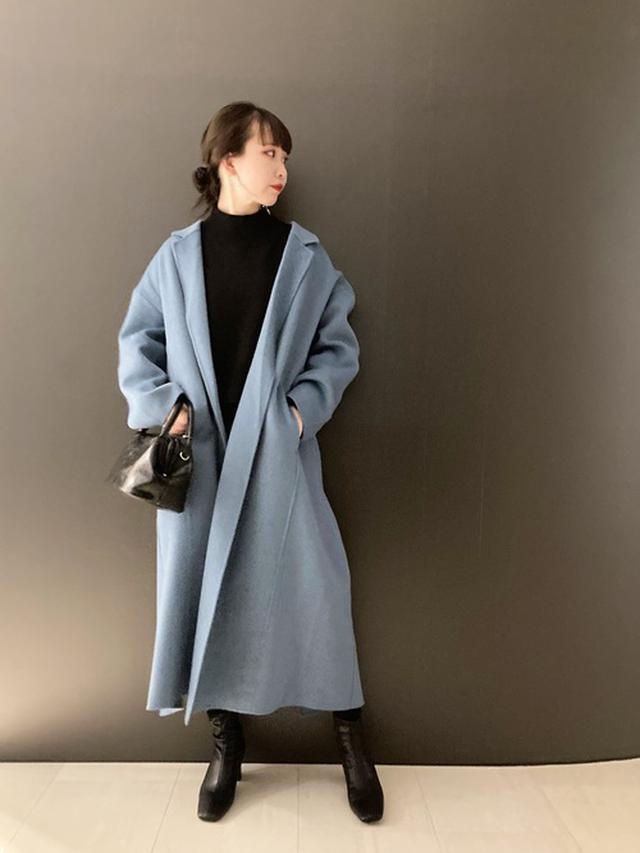 画像: 【JEANASIS】ショートビーバーリバーマキシコート¥18,150(税込み)