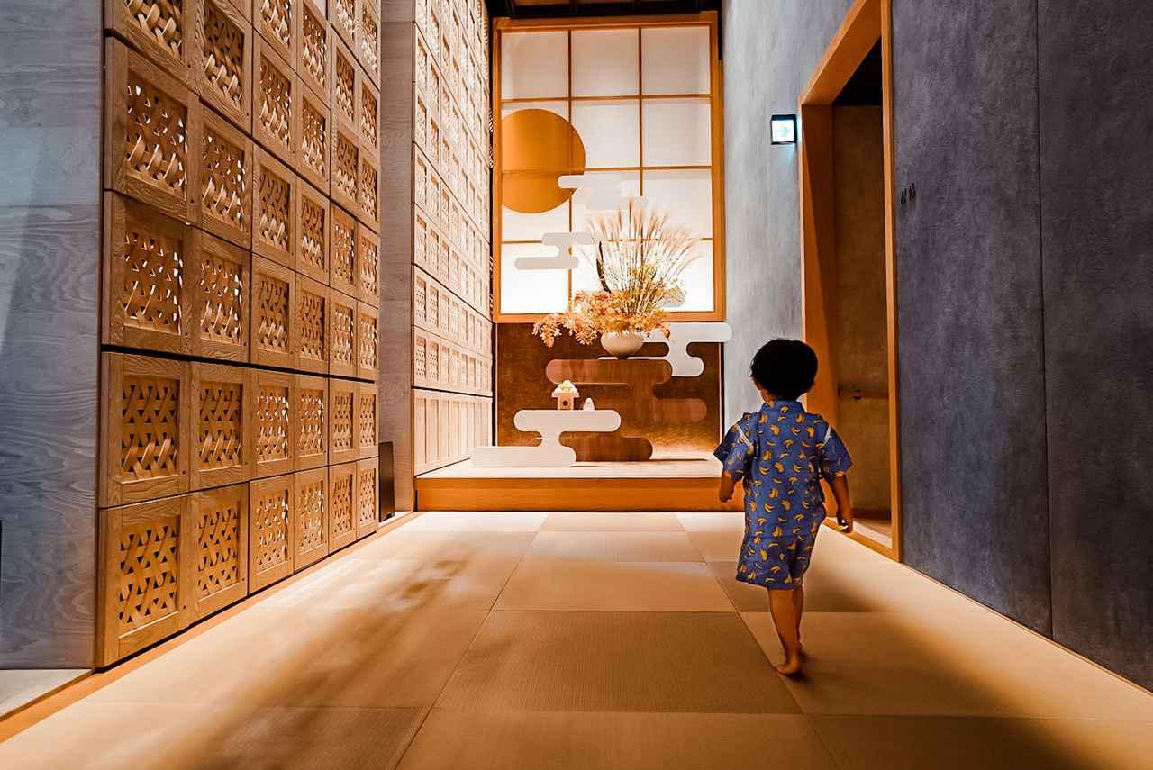 画像2: 2歳息子も大喜び。近場で親孝行が叶う「星のや東京」