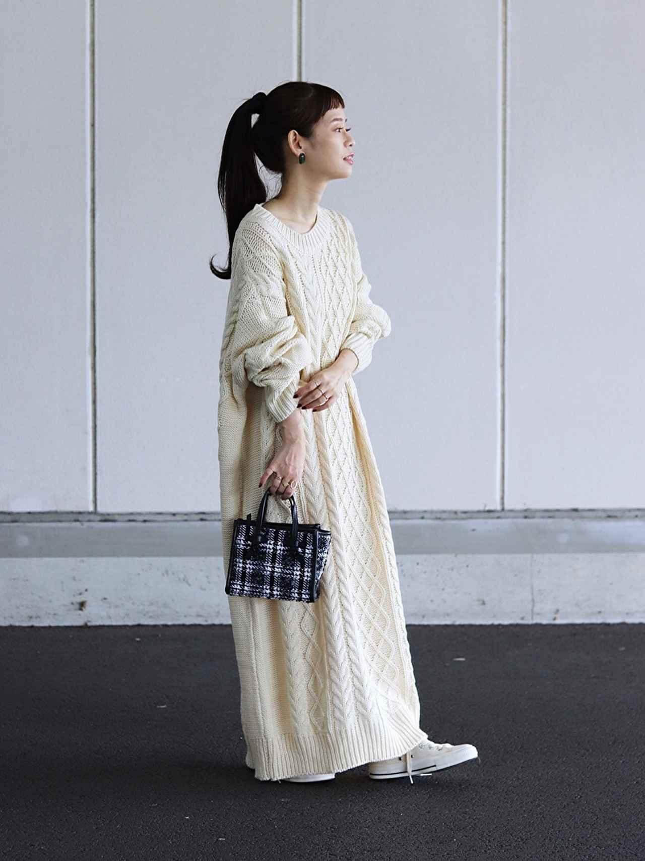 画像: 【Libra】ニットワンピース ¥5,390(税込) 出典:WEAR