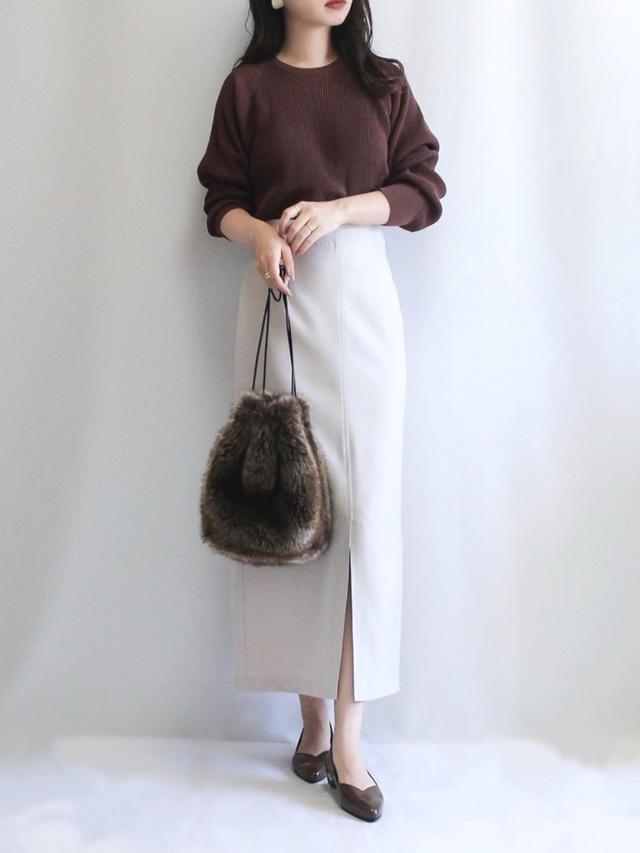 画像: 【NATURAL BEAUTY BASIC】スカート ¥8,250(税込) 出典:WEAR