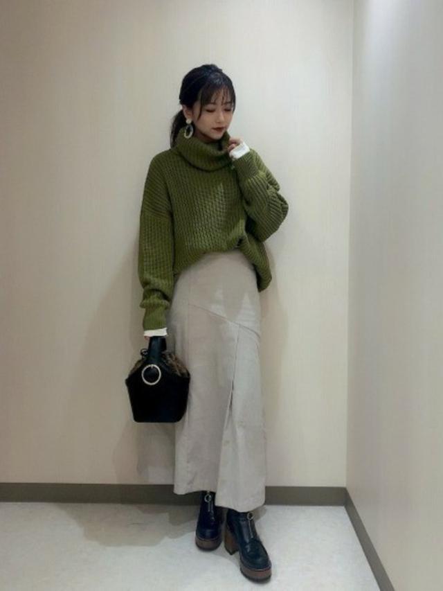 画像: 【JEANASIS】スカート ¥7,150(税込) 出典:WEAR