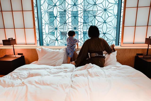 画像17: 2歳息子も大喜び。近場で親孝行が叶う「星のや東京」