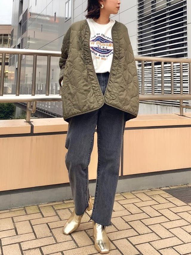 画像: 【Ungrid】キルティングライナーコート ¥11,000(税込) 出典:WEAR