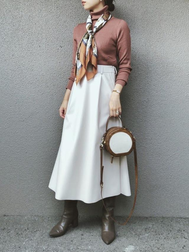 画像: 【GU】リブタートルネックセーター ¥1,490(税込) 出典:WEAR