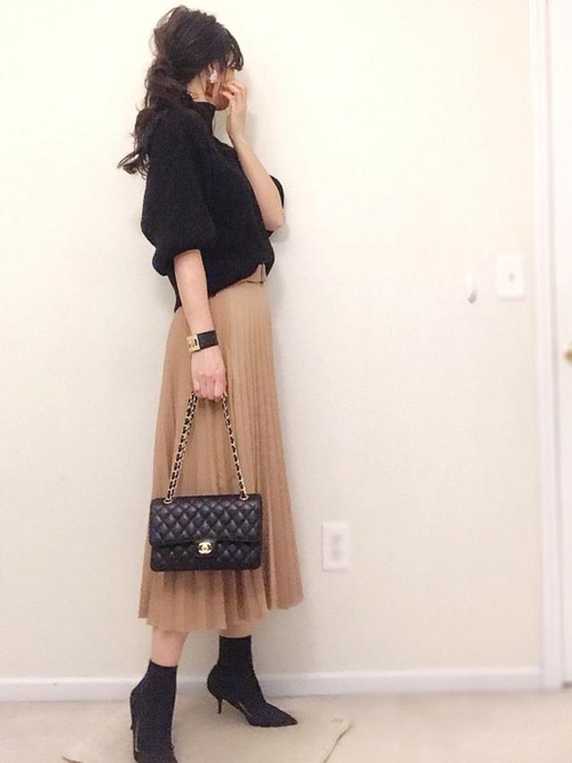 画像: 【ZARA】プリーツスカート