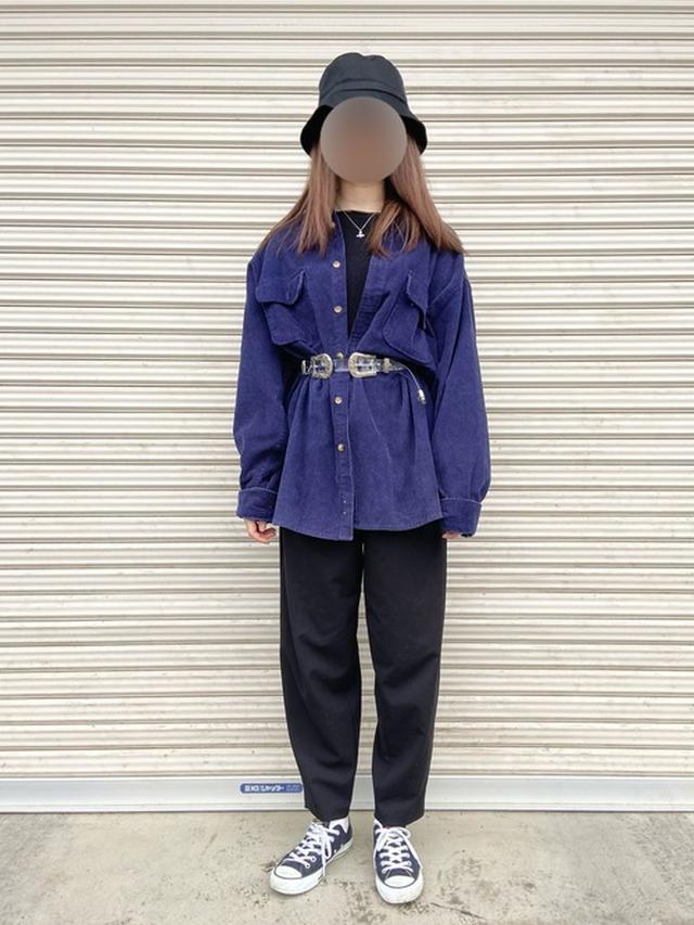 画像: 【kutir】バケットハット¥1,210(税込)【ユニクロ】ライトスフレヤーンリラックスクルーネックセーター(長袖)¥869(税込)【GU】ボトムス平均価格¥1,990~ 出典:WEAR
