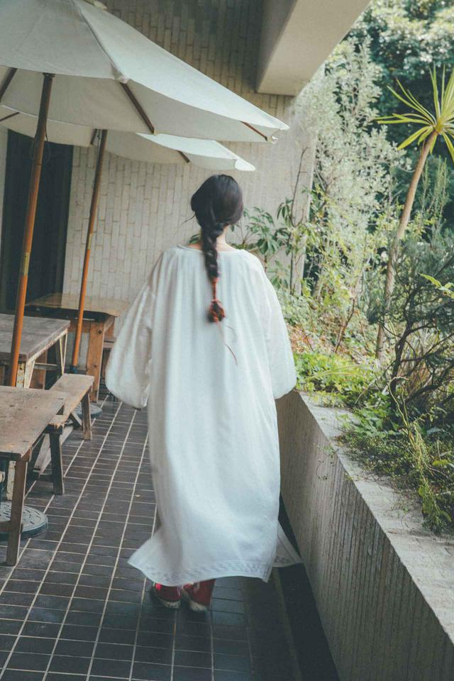 画像: 刺繍ドレス¥25,300