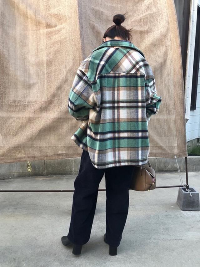 画像: 【ZARA】チェック柄オーバーシャツ¥6,990(税込み) 出典:WEAR