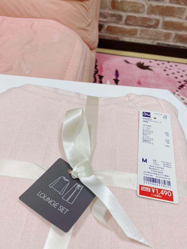 画像2: 【GU】思わず触りたくたなる♡ふんわり冬パジャマもお買い得!