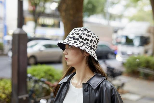 画像: Dalmatian Bucket Hat S/M , L /XL ¥15,000(税抜)