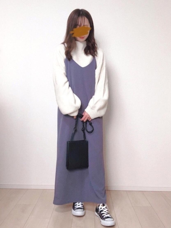 画像: 【しまむら】ワンピース平均価格¥1,000〜¥2,000【and it_】ニット¥2,200(税込) 出典:WEAR