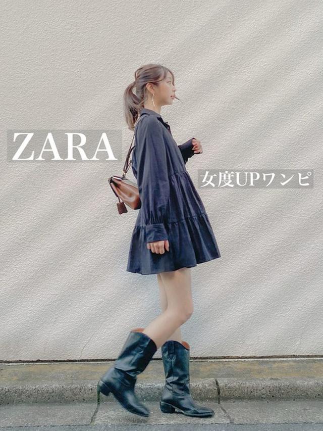 画像: 【ZARA】ティアードフリルワンピース【Gucci】 Supreme leather backpack$2,080(税込み)【STYLENANDA】ウエスタンブーツ 出典:WEAR