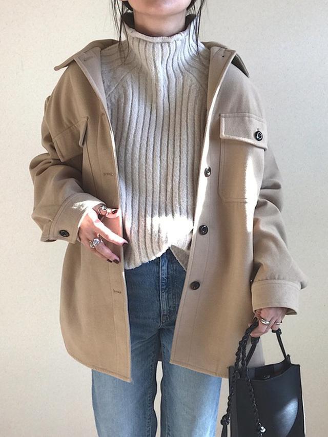 画像: 【GU】cpoジャケット デニムパンツ【Qoo10】ショルダーバッグ 出典:WEAR