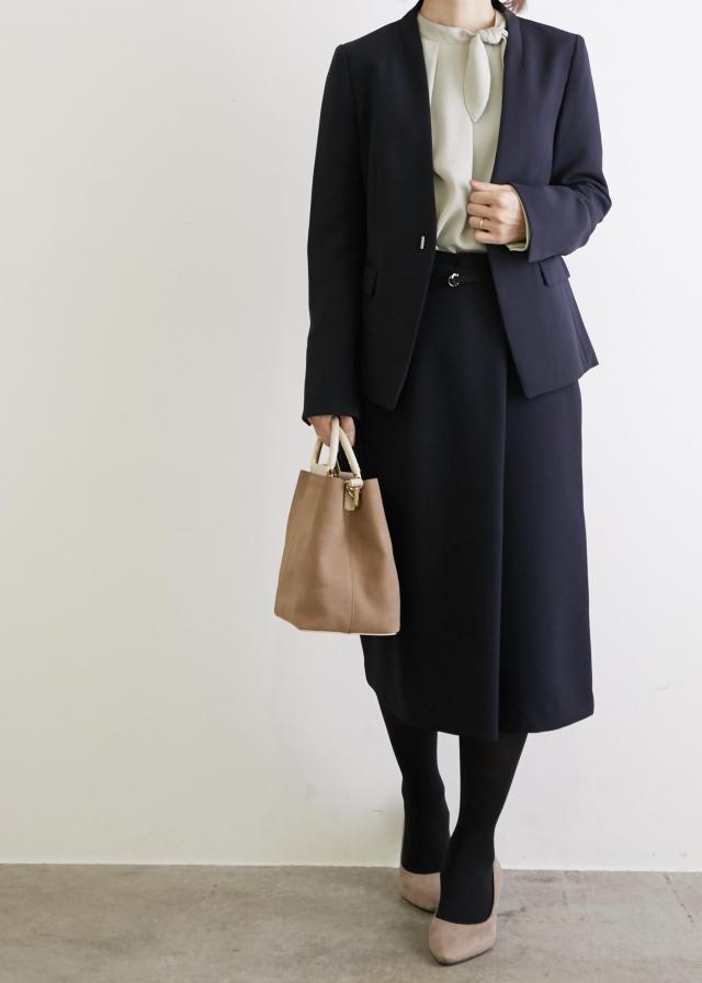画像: ROPÉ PICNIC / 【360°全方位ストレッチ】【WEB限定34,42サイズ】ラップ風スカート (スカート / スカート) 通販 J'aDoRe JUN ONLINE