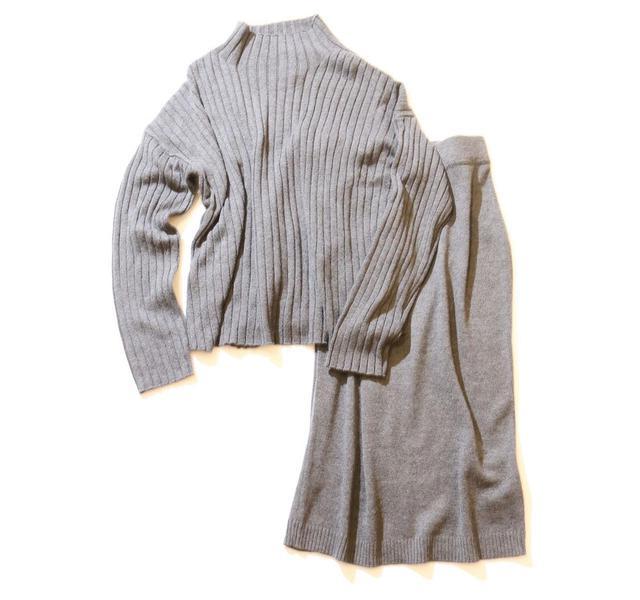 画像: トップス、スカート各3990円
