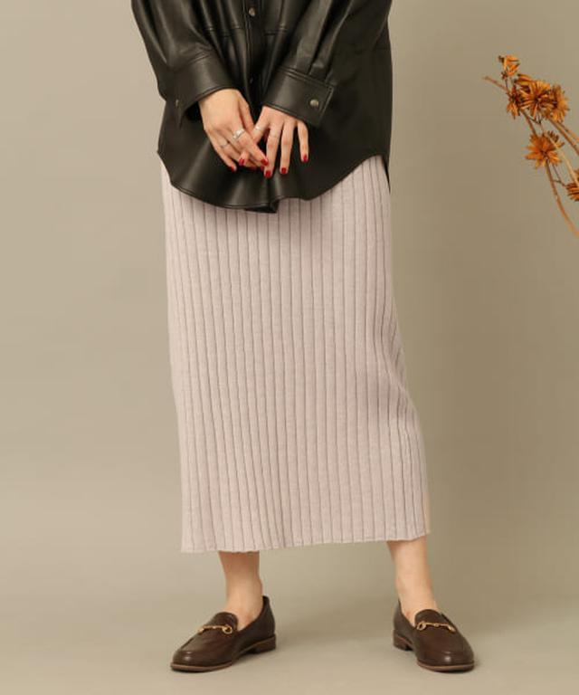 画像: メランジニットスカート[AA06-25B007] URBAN RESEARCH公式ファッション通販
