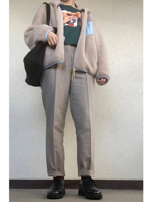 画像: 【ユニクロ】防風ボアフリースジャケット ¥2,189(税込) 【H&M】パンツ平均価格 ¥3,000~ 出典:WEAR