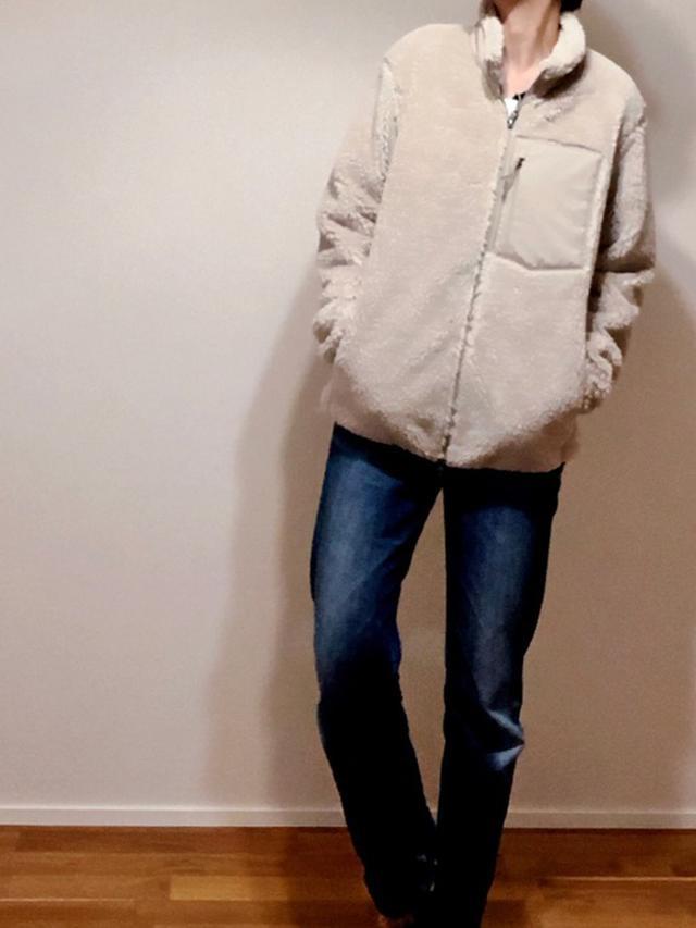 画像: 【ユニクロ】フリースジャケット平均価格 ¥2,000~ 【EDWIN】デニムパンツ平均価格 ¥10,000~ 出典:WEAR