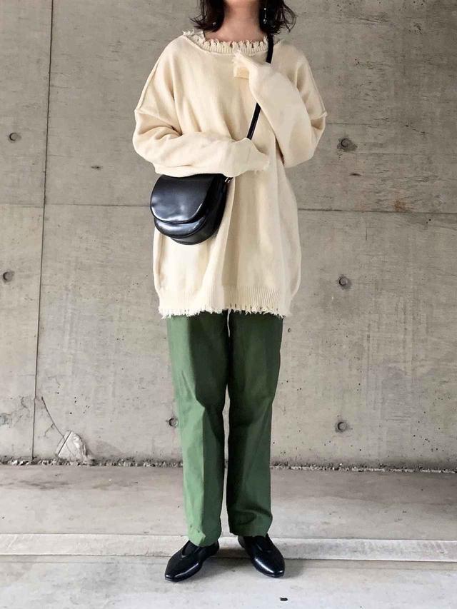 画像: 【Neuna】ニット¥4,950(税込)【THE SHINZONE】パンツ¥20,900(税込) 出典:WEAR