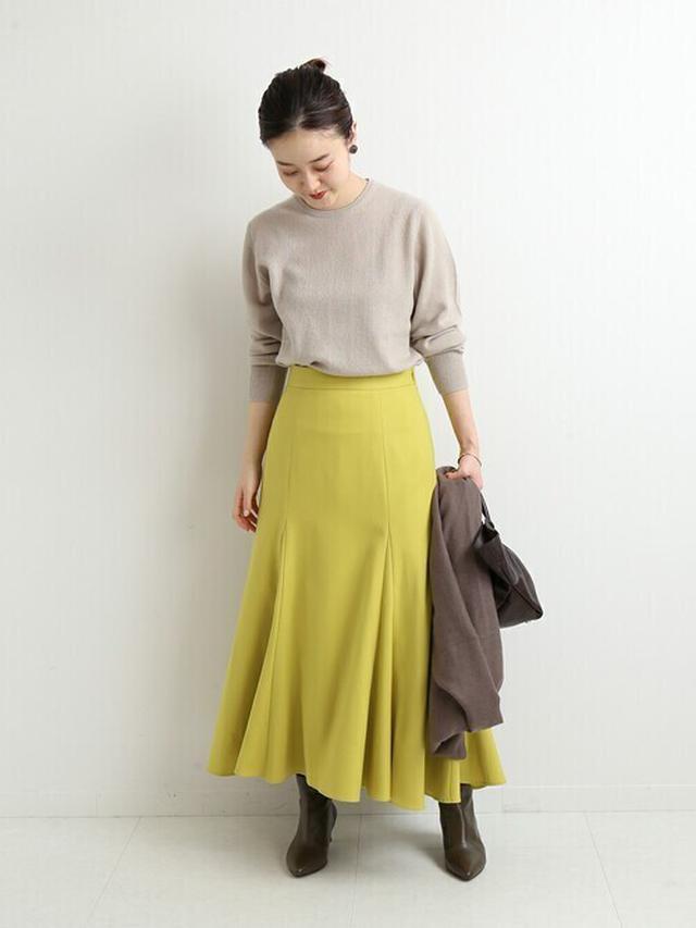 画像: 【IENA】スカート ¥17,600(税込) 出典:ZOZOTOWN