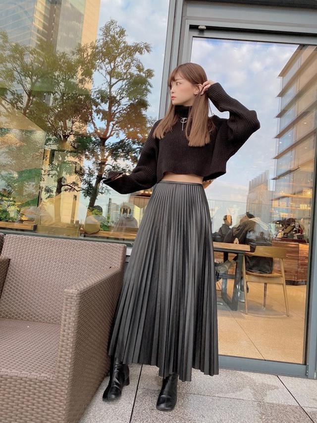 画像: 【Mila Owen】スカート¥10,780(税込)【参考商品】ニット¥4,990(税込) 出典:WEAR
